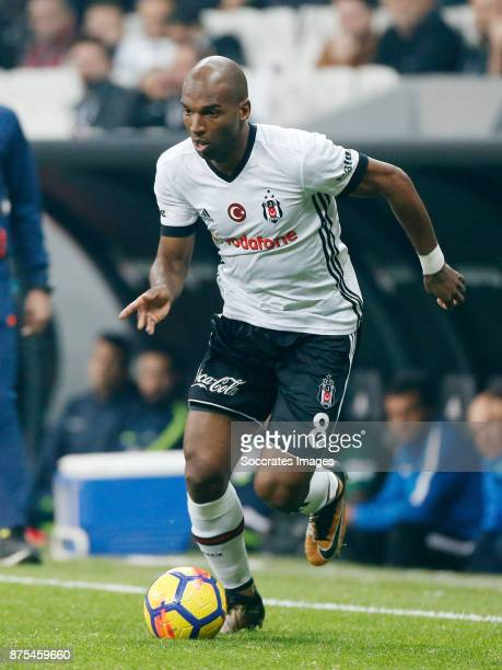 Ryan Babel of Besiktas during the Turkish Super lig match between Besiktas v Akhisar Belediyespor at the Vodafone Park on November 17 2017 in...