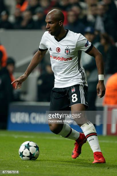 Ryan Babel of Besiktas during the UEFA Champions League match between Besiktas v FC Porto at the Vodafone Park on November 21 2017 in Istanbul Turkey
