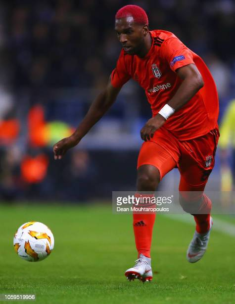 Ryan Babel of Besiktas in action during the UEFA Europa League Group I match between KRC Genk and Besiktas at Cristal Arena on November 8 2018 in...