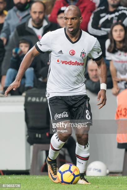 Ryan Babel of Besiktas JK during the Turkish Spor Toto Super Lig football match between Besiktas JK and Teleset Mobilya Akhisarspor on November 17...