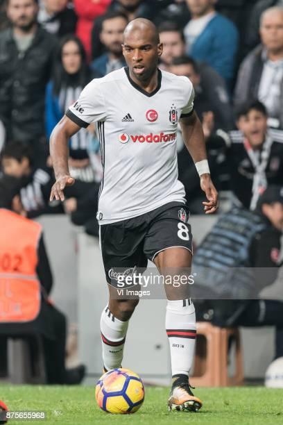 Ryan Babel of Besiktas JK during the Turkish Spor Toto Super Lig football match between Besiktas JK and Teleset Mobilya Akhisarspor on November 17...
