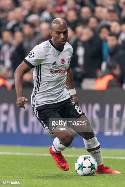 Ryan Babel of Besiktas JK during the UEFA Champions League group G match between Besiktas JK and FC Porto on November 21 2017 at the Vodafone Arena...