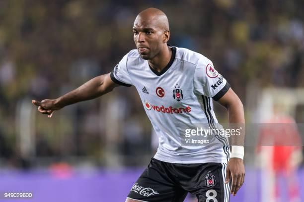 Ryan Babel of Besiktas JK during the Ziraat Turkish Cup match Fenerbahce AS and Besiktas AS at the Sukru Saracoglu Stadium on April 19 2018 in...