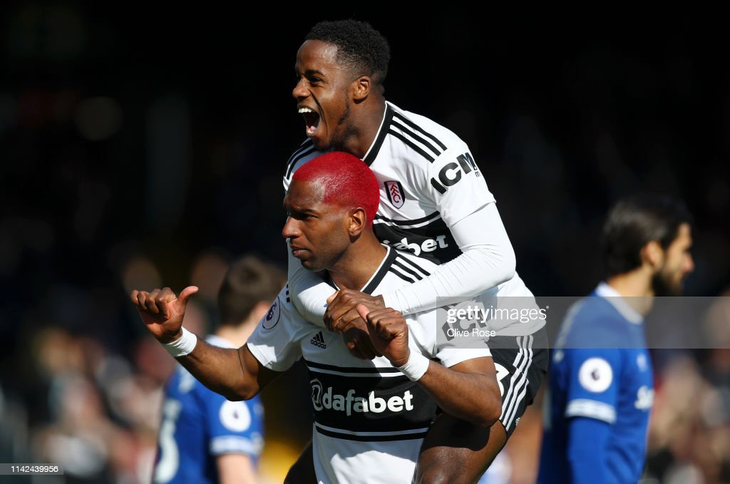 Fulham FC v Everton FC - Premier League : News Photo