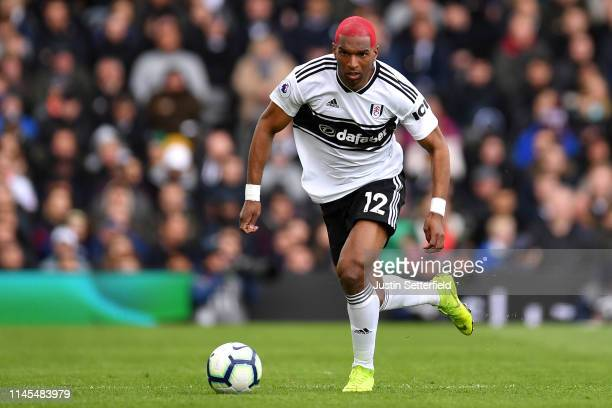 Ryan Babel of Fulham during the Premier League match between Fulham FC and Cardiff City at Craven Cottage on April 27 2019 in London United Kingdom