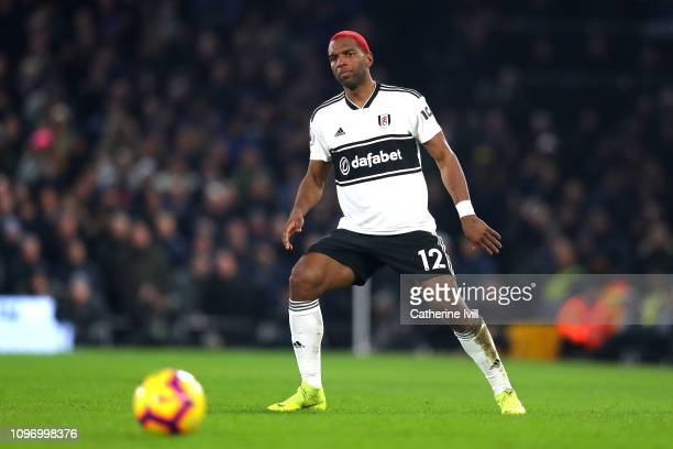 Ryan Babel of Fulham in action during the Premier League match between Fulham FC and Tottenham Hotspur at Craven Cottage on January 20 2019 in London...