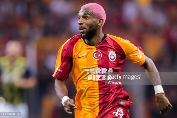 Ryan Babel of Galatasaray AS during the Turkish Spor Toto Super Lig match between Galatasaray SK and Fenerbahce AS at the Turk Telekom Arena on...