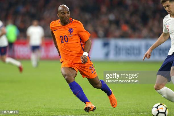 Ryan Babel of Netherlands during the International Friendly match between Netherland and England at Amsterdam Arena on March 23 2018 in Amsterdam...