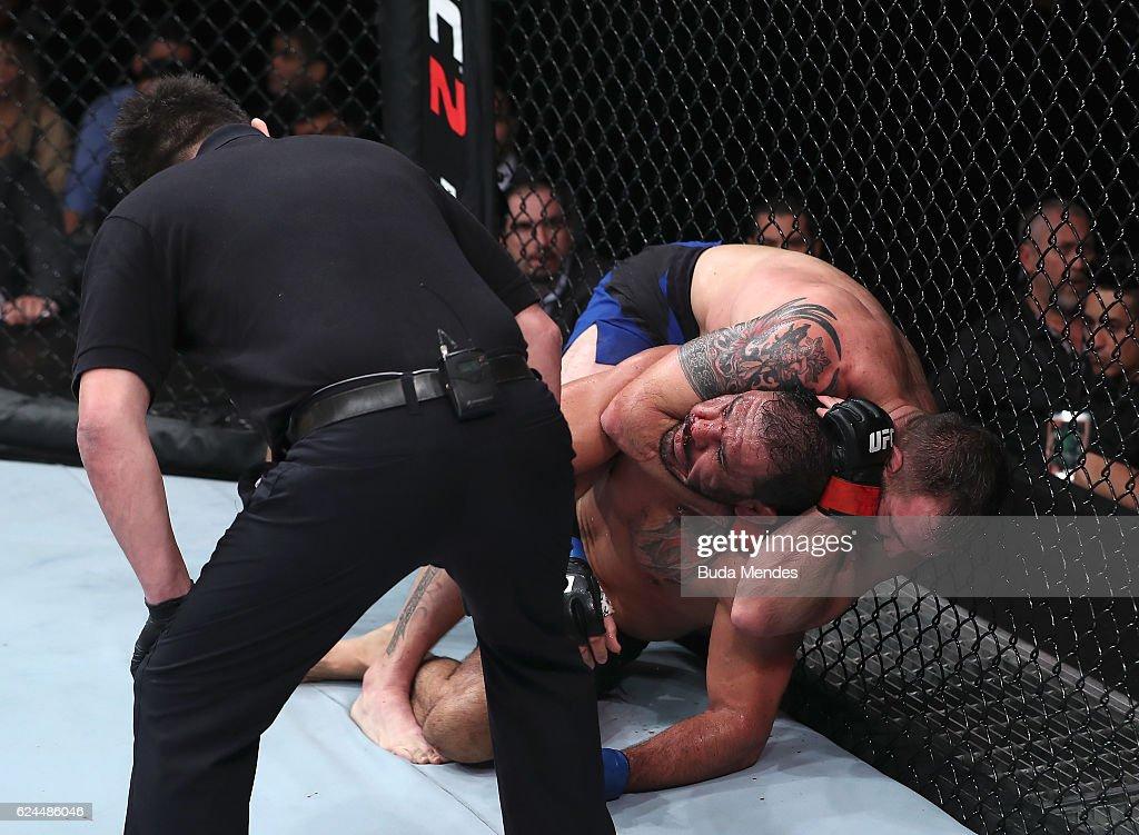 UFC Fight Night: Bader v Nogueira 2 : Fotografía de noticias