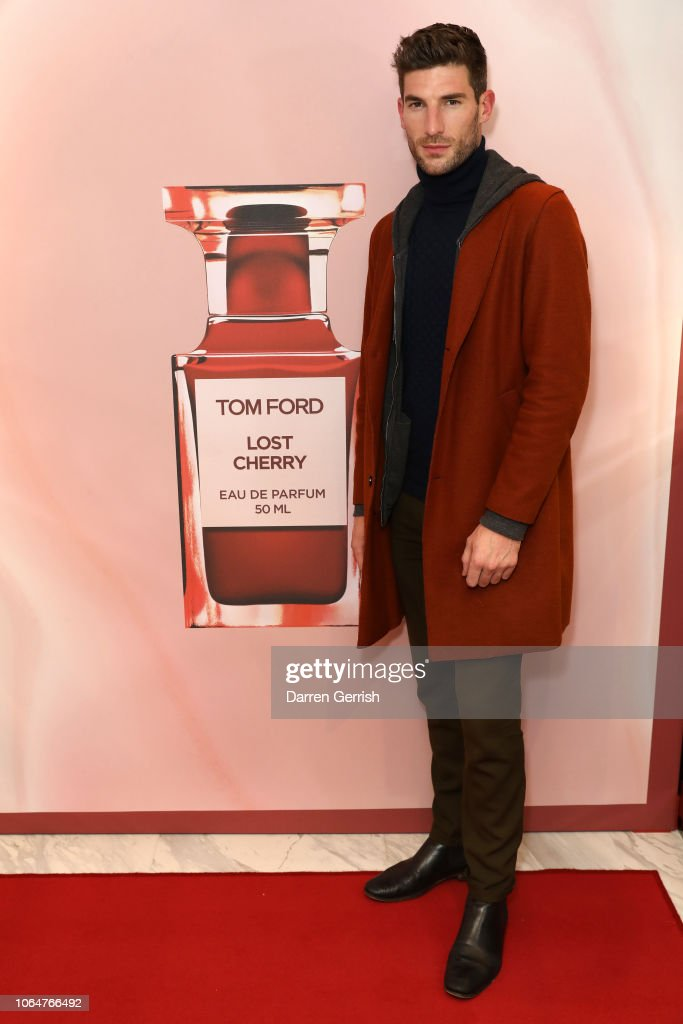 Ryan Barrett Attends The Launch Of Tom Ford Lost Cherry And The