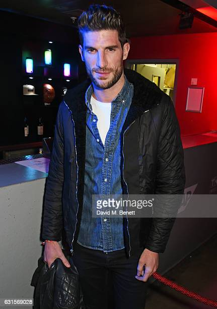 Ryan Barrett attends the NBA Global Game London 2017 after party at The O2 Arena on January 12 2017 in London England