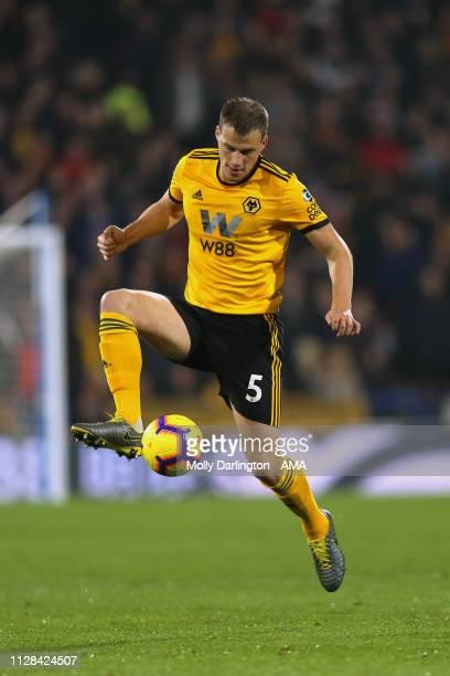 Ryan Bennett of Wolverhampton Wanderers during the Premier League match between Huddersfield Town and Wolverhampton Wanderers at John Smith's Stadium...