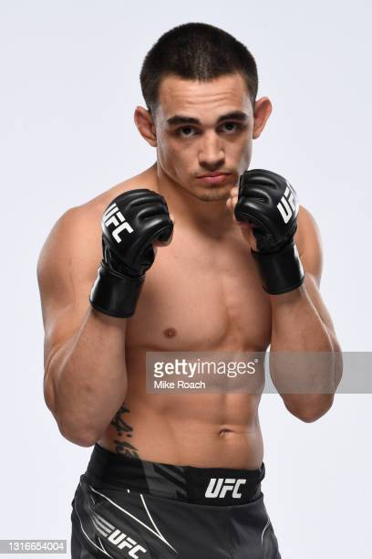 Ryan Benoit poses for a portrait during a UFC photo session on May 5, 2021 in Las Vegas, Nevada.