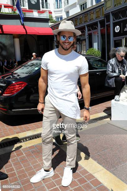 Ryan Bensetti is spotted at the Majestic Hotel during the 70th annual Cannes Film Festival at on May 20 2017 in Cannes France