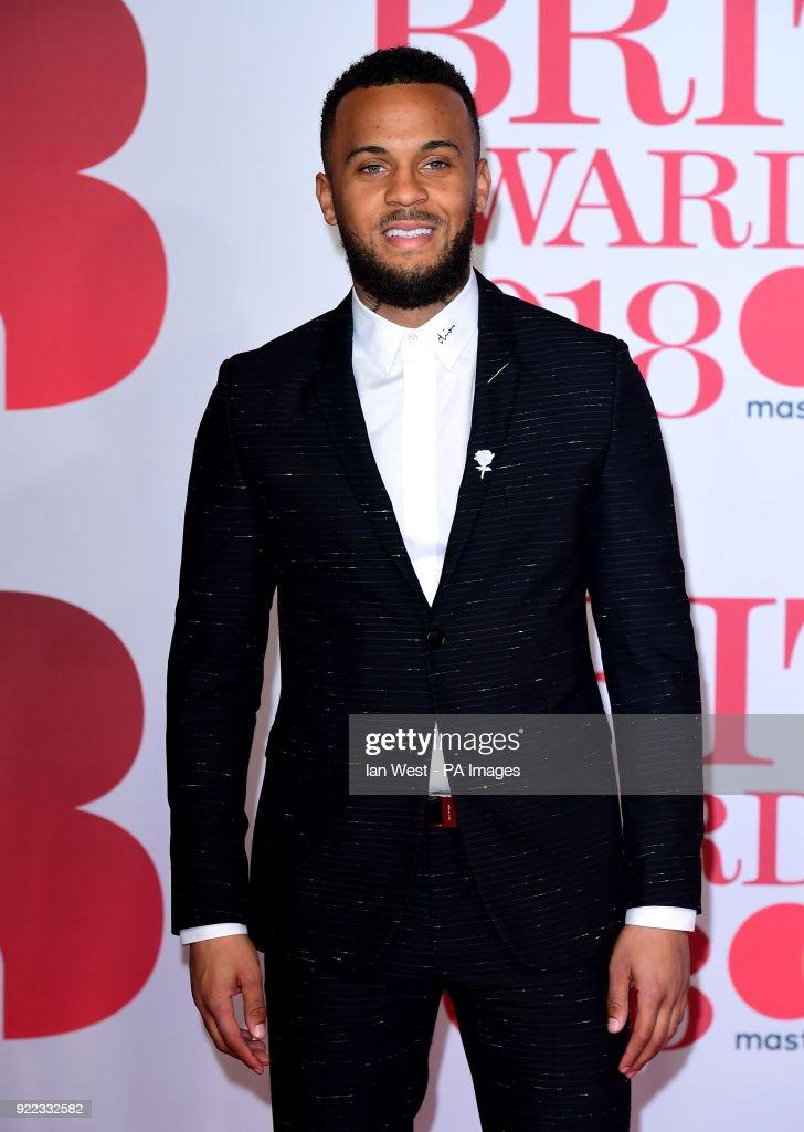 Ryan Bertrand attending the Brit Awards at the O2 Arena, London