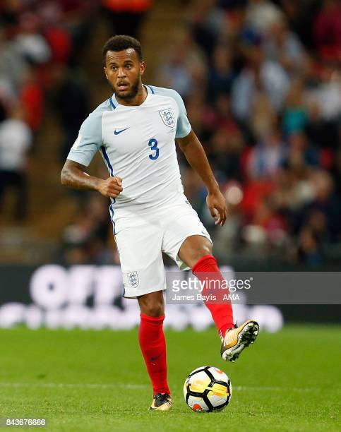 Ryan Bertrand of England during the FIFA 2018 World Cup Qualifier between England and Slovakia at Wembley Stadium on September 4 2017 in London...