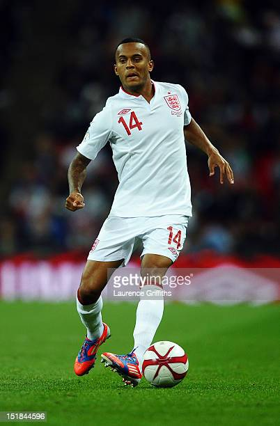Ryan Bertrand of England in action during the FIFA 2014 World Cup Group H qualifying match between England and Ukraine at Wembley Stadium on...