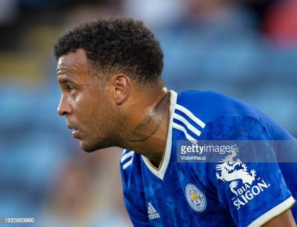 Ryan Bertrand of Leicester City during the pre-season friendly match between Leicester City and Villarreal CF at The King Power Stadium on August 4,...