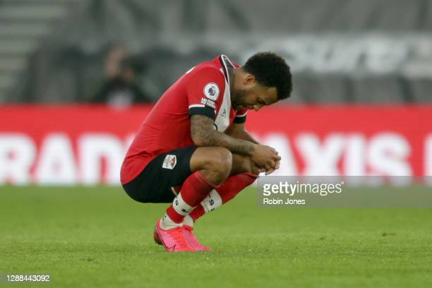 Ryan Bertrand of Southampton after his side's 32 defeat during the Premier League match between Southampton and Manchester United at St Mary's...