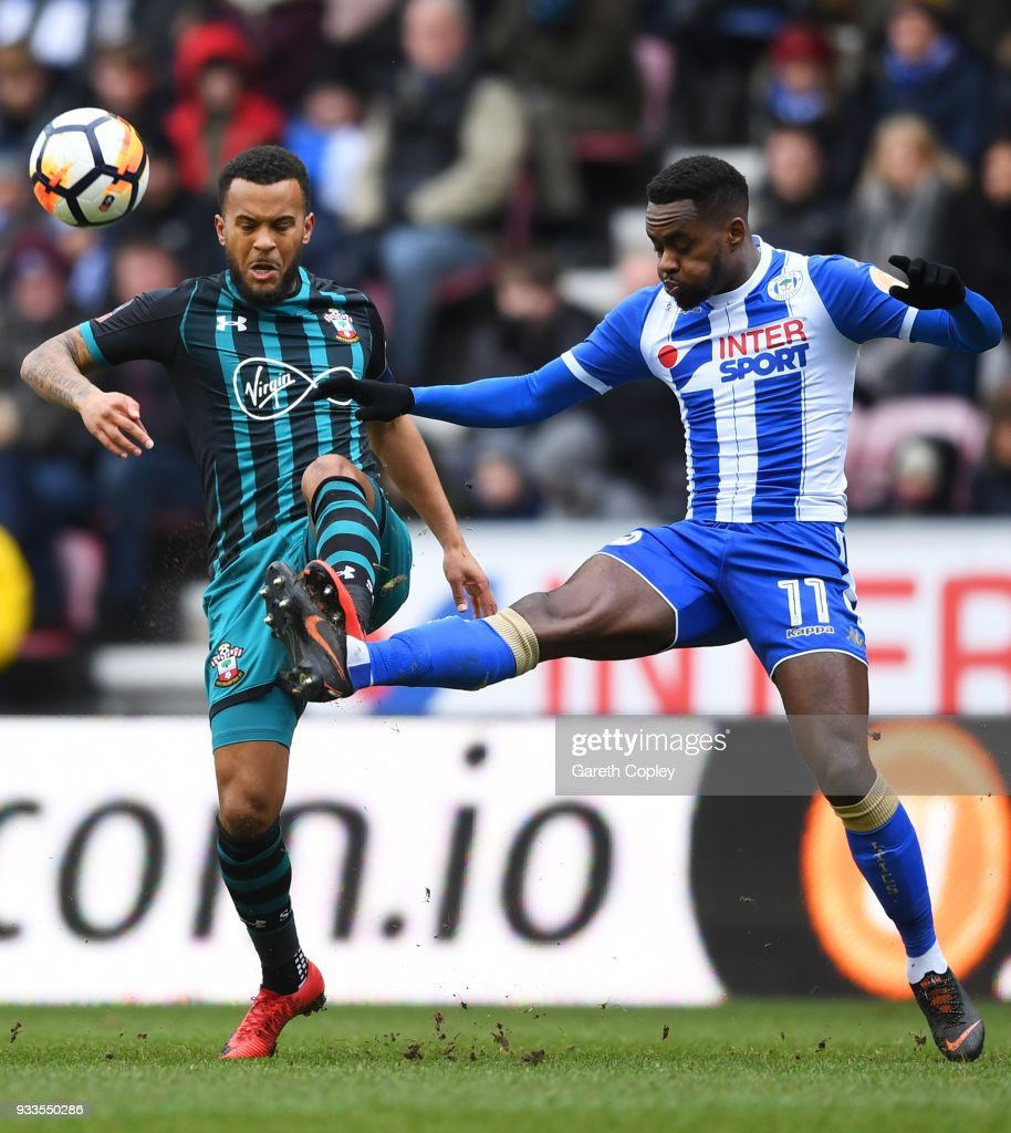 Wigan Athletic v Southampton - The Emirates FA Cup Quarter Final