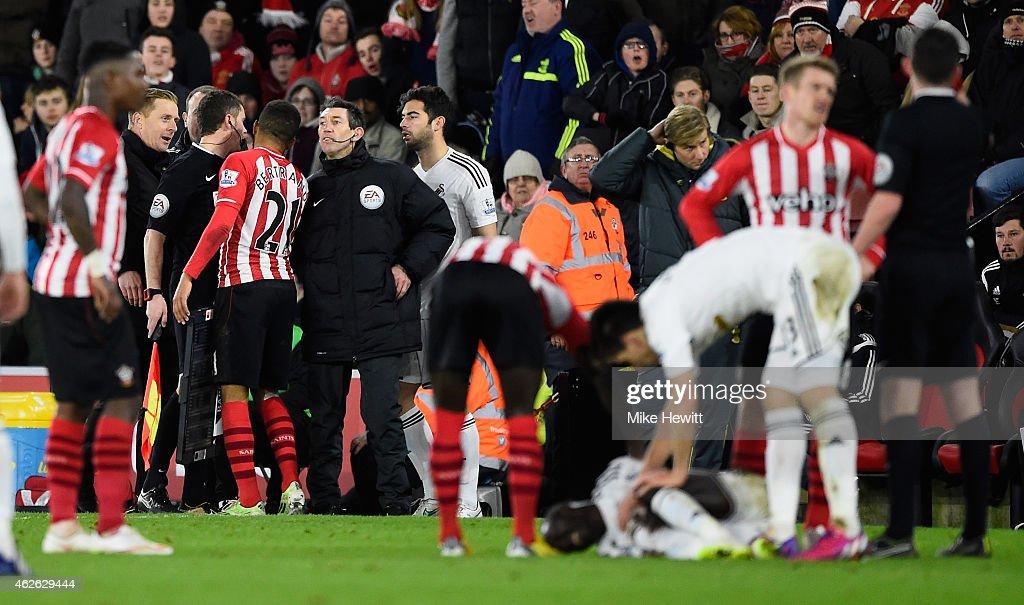 Southampton v Swansea City - Premier League : News Photo