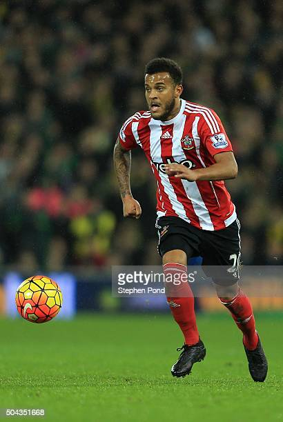 Ryan Bertrand of Southampton during the Barclays Premier League match between Norwich City and Southampton at Carrow Road stadium on January 2 2016...