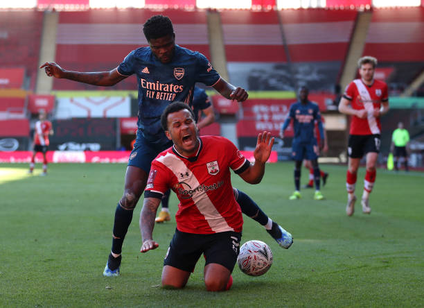 GBR: Southampton v Arsenal: The Emirates FA Cup Fourth Round