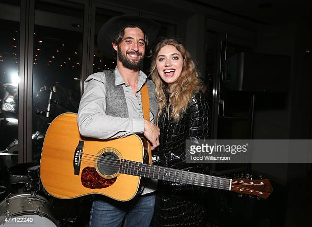 Ryan Bingham and Imogen Poots attend the after party for the world premiere of A Country Called Home at The 2015 Los Angeles Film Festival at the...