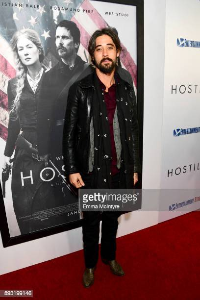 Ryan Bingham attends the premiere of Entertainment Studios Motion Pictures' 'Hostiles' at Samuel Goldwyn Theater on December 14 2017 in Beverly Hills...