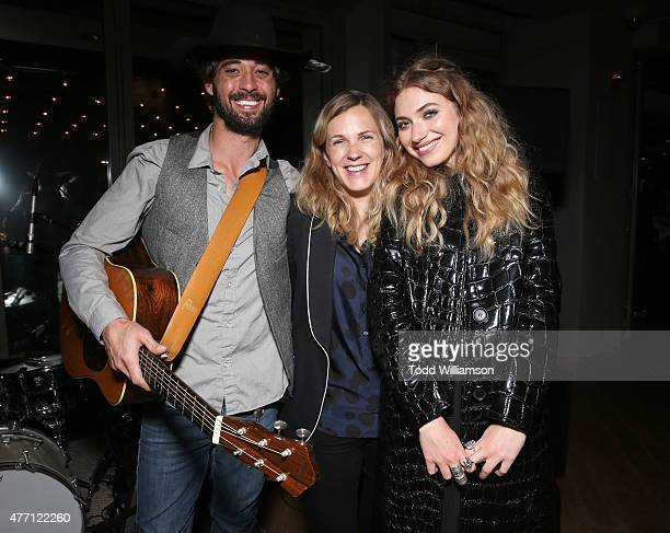 Ryan Bingham Director/CoWriter Anna Axster and Imogen Poots attend the after party for the world premiere of A Country Called Home at The 2015 Los...