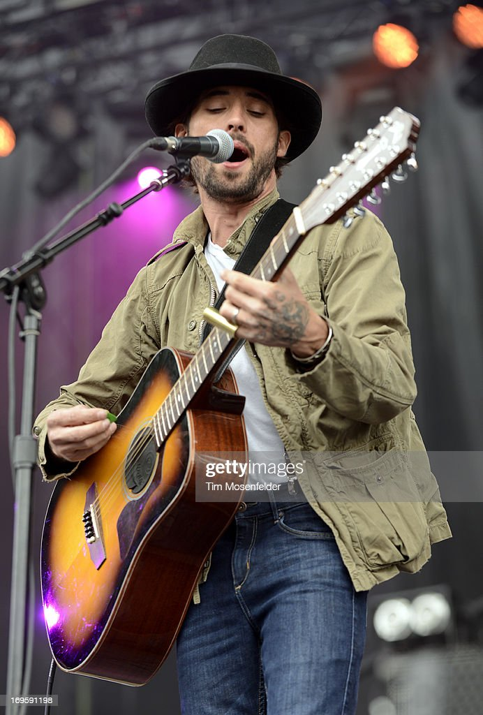 Ryan Bingham performs as part of Day 4 of the Sasquatch! Music Festival at the Gorge Amphitheatre on May 27, 2013 in George, Washington.