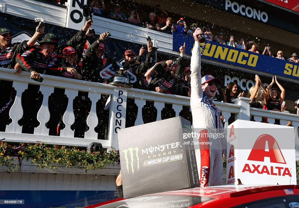 Monster Energy NASCAR Cup Series Axalta presents the Pocono 400 : News Photo