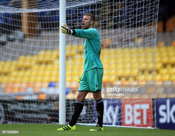 Ryan Boot of Port Vale during the pre season friendly match against West Bromwich Albion at Vale Park on August 1 2017 in Burslem England