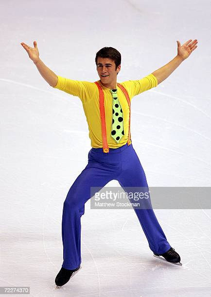 Ryan Bradley competes in the short program during Skate America October 26 2006 at the Hartford Civic Center in Hartford Connecticut