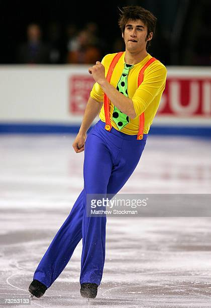Ryan Bradley competes in the short program during the ISU Four Continents Figure Skating Championships February 7 2007 at the World Arena in Colorado...