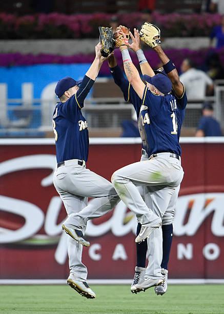 Milwaukee Brewers v San Diego Padres