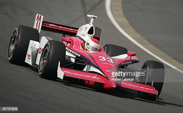 Ryan Briscoe driver of the Target Chip Ganassi Racing Toyota Panoz in action during the Indy Racing League IndyCar Series Bridgestone Indy Japan 300...