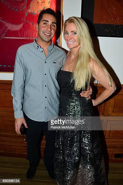 Ryan Brito and Evelyn Anastos attend Leesa Rowland Ramona Singer R Couri Hay Cornelia Guest Salute Animal Ashram @ Chez Couri at Chez Couri on...