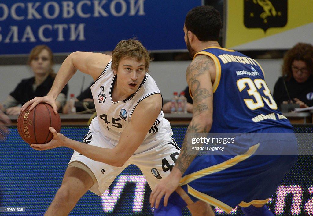 Khimki Moscow Region v Besiktas IF Khimki: ULEB Eurocup : News Photo