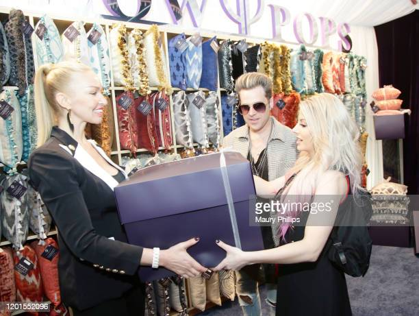 Ryan Cabrera and Lexi Kaufman attend the GRAMMY Gift Lounge during the 62nd Annual GRAMMY Awards at STAPLES Center on January 23, 2020 in Los...