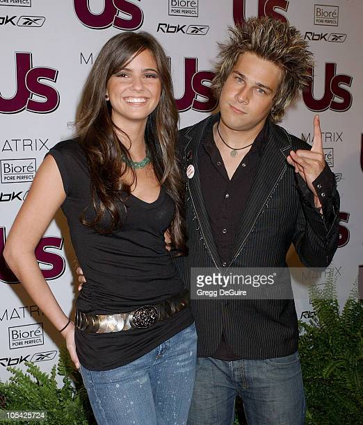 Ryan Cabrera and Shelley Hennig during US Weekly Jessica Simpson Celebrate The Young Hot Hollywood Style Awards at Element Hollywood in Hollywood...
