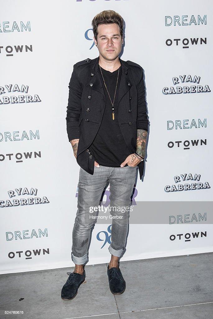 Ryan Cabrera arrives at Faculty on April 26, 2016 in Los Angeles, California.
