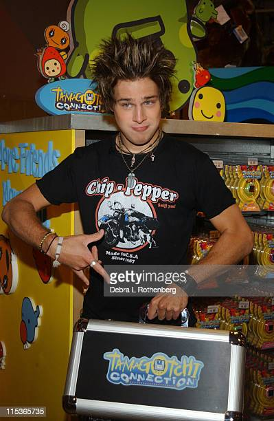 Ryan Cabrera during Ryan Cabrera Celebrates The Next Generation Tamagotchi Connection at Toys 'R' Us at Toys 'R' Us in New York City New York United...