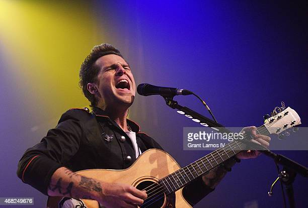Ryan Cabrera performs at Gramercy Theatre on March 31, 2015 in New York City.