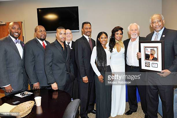 Ryan Cameron President Morehouse College Dr John Silvanus Wilson Jr recording artist Ashanti recording artist Kenny Rogers and Judicial Officer...