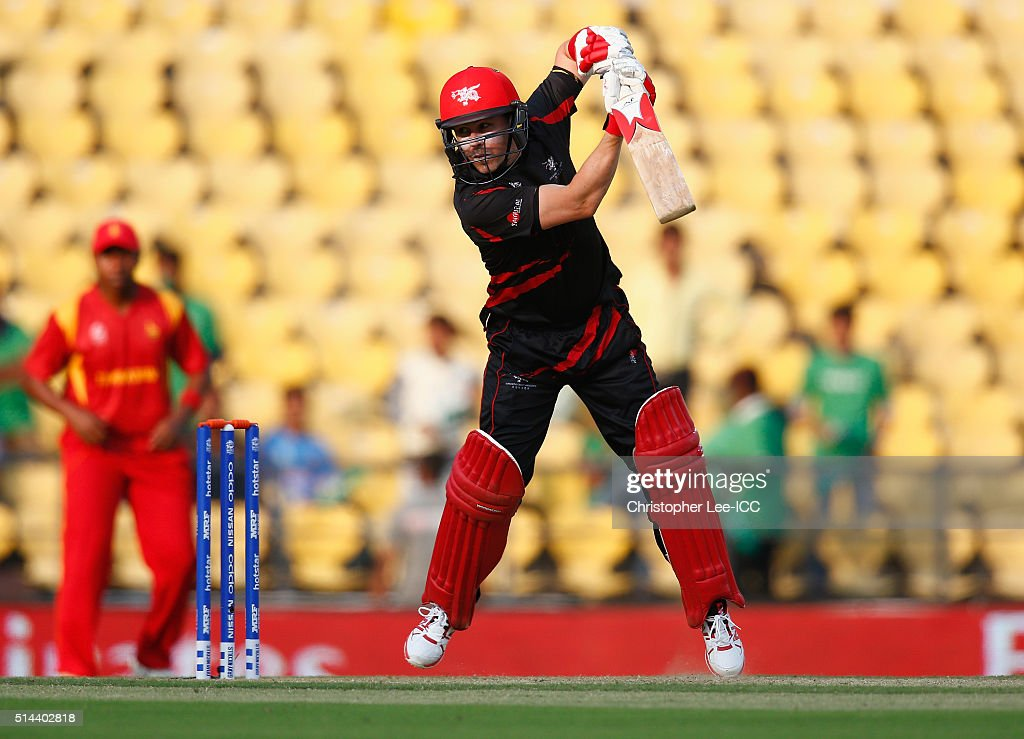 ICC Twenty20 World Cup:  Zimbabwe v Hong Kong