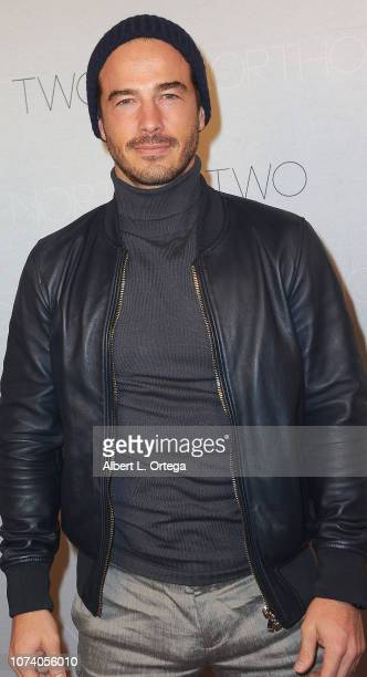 Ryan Carnes arrives for the premiere of 'Heart Baby' held at The Ahrya Fine Arts Laemmle Theater on November 23 2018 in Beverly Hills California