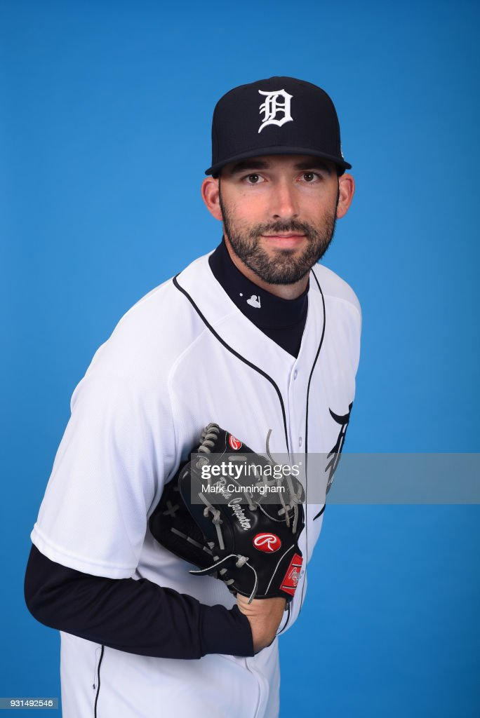 Ryan Carpenter #31 of the Detroit Tigers poses for a photo during photo day on February 20, 2018 in Lakeland, Florida.