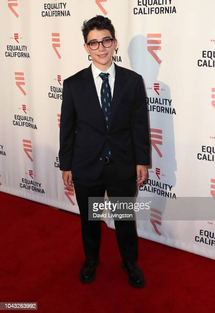 Ryan Cassata attends the LA Equality Awards hosted by Equality California at JW Marriot at LA Live on September 29 2018 in Los Angeles California