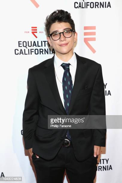 Ryan Cassata attends the Equality California 2018 Los Angeles Equality Awards at JW Marriott Los Angeles at LA LIVE on September 29 2018 in Los...
